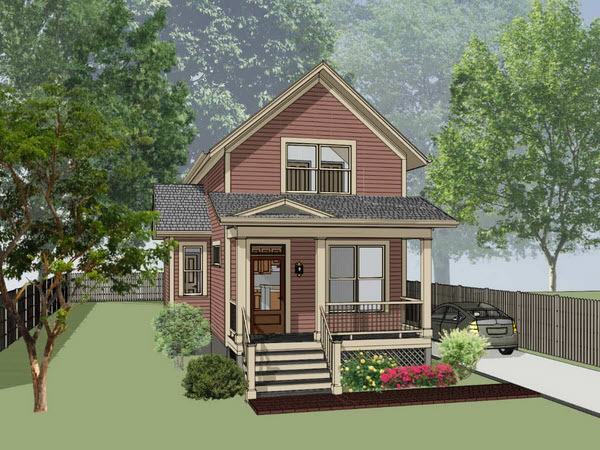 Southern Style House Plans Plan: 16-154