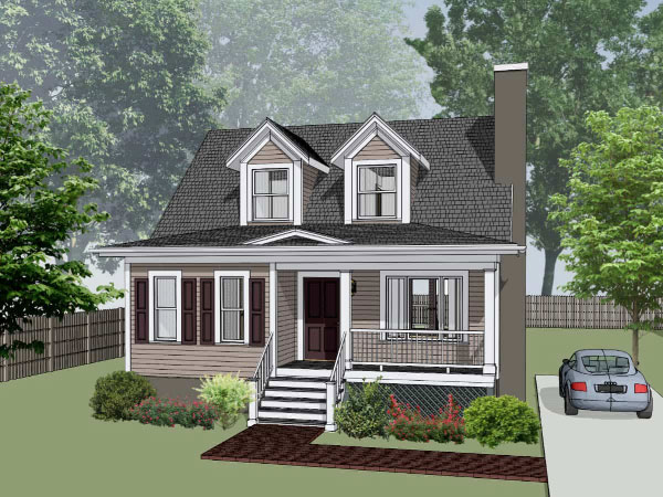 Southern Style House Plans Plan: 16-156