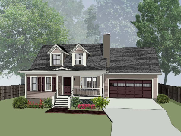 Southern Style Floor Plans Plan: 16-159