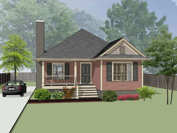Country Style House Plans Plan: 16-162