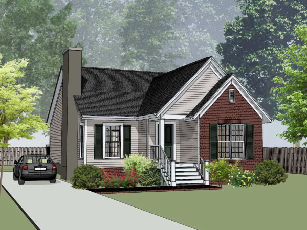 Traditional Style House Plans Plan: 16-163