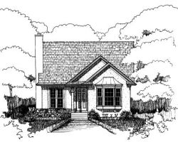 Traditional Style House Plans Plan: 16-164