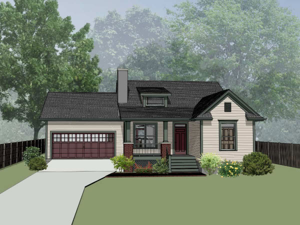 Traditional Style Floor Plans Plan: 16-166