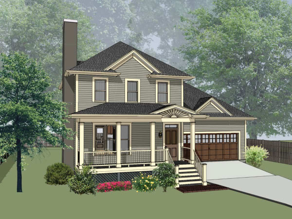 Southern Style House Plans Plan: 16-170