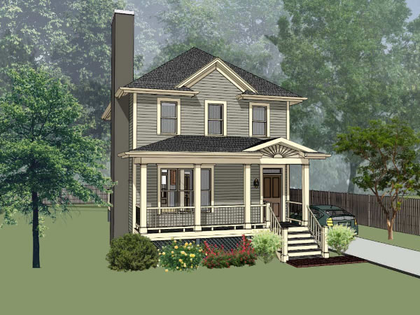 Southern Style Floor Plans Plan: 16-174
