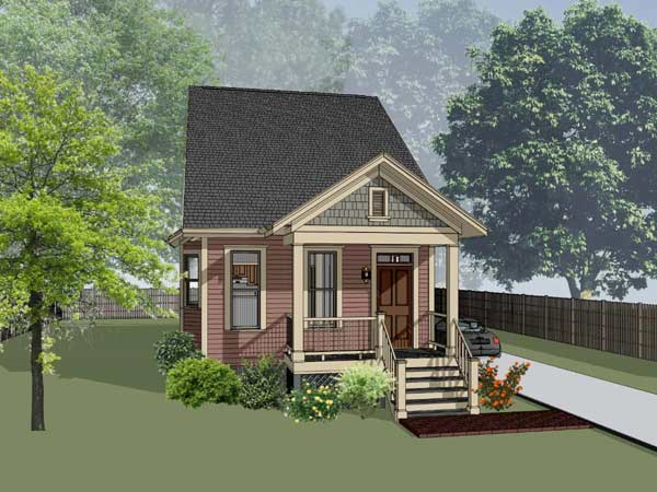 Craftsman Style Home Design Plan: 16-178