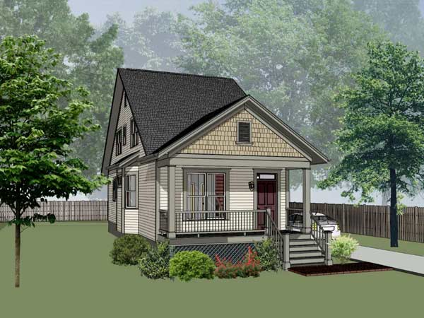 Craftsman Style House Plans Plan: 16-179