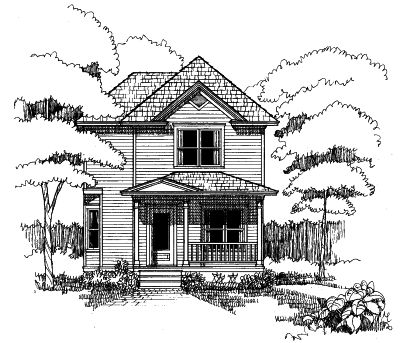 Southern Style House Plans Plan: 16-186