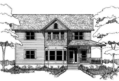 Southern Style House Plans Plan: 16-187