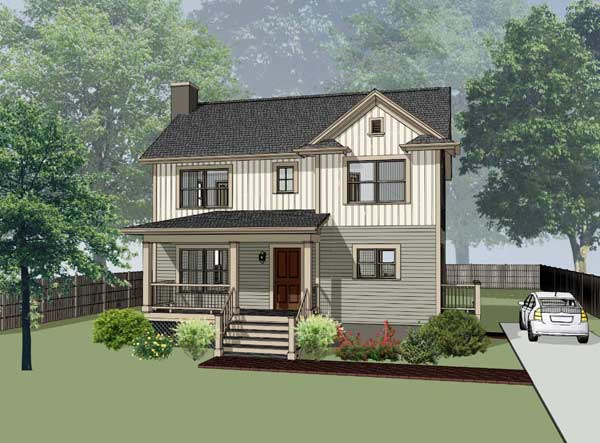 Country Style House Plans Plan: 16-192