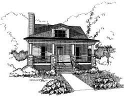Craftsman Style Floor Plans Plan: 16-196