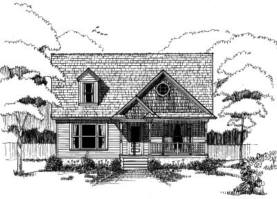 Country Style Floor Plans Plan: 16-197