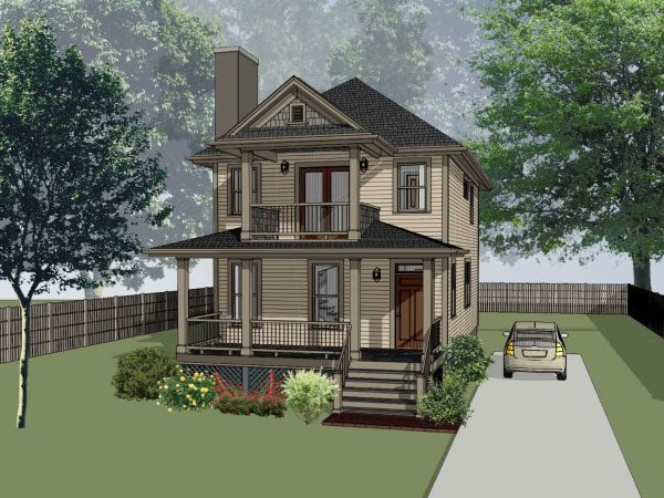 Southern Style Floor Plans Plan: 16-201
