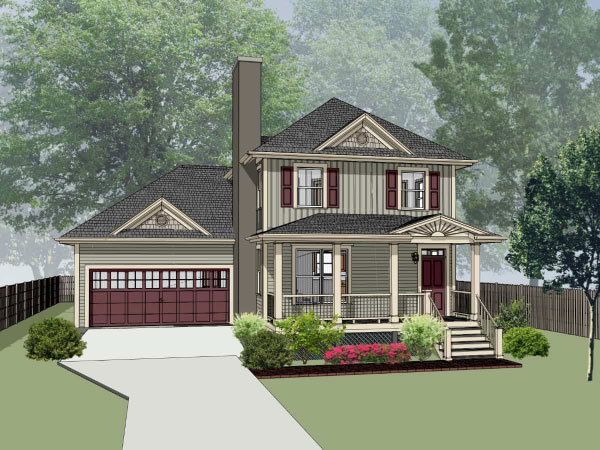 Southern Style Floor Plans Plan: 16-205