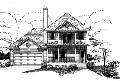 Southern Style House Plans Plan: 16-206