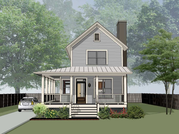 Farm Style House Plans Plan: 16-208