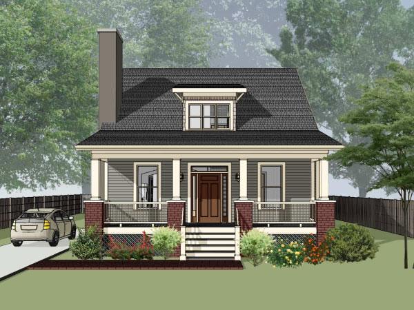 Bungalow Style House Plans Plan: 16-209
