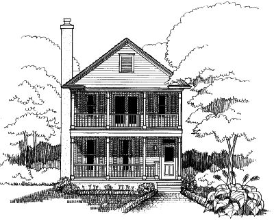 Southern Style House Plans Plan: 16-212