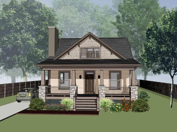 Craftsman Style House Plans Plan: 16-217