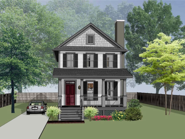 Southern Style House Plans Plan: 16-219