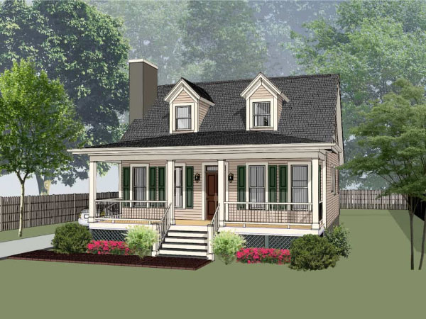 Country Style House Plans Plan: 16-224