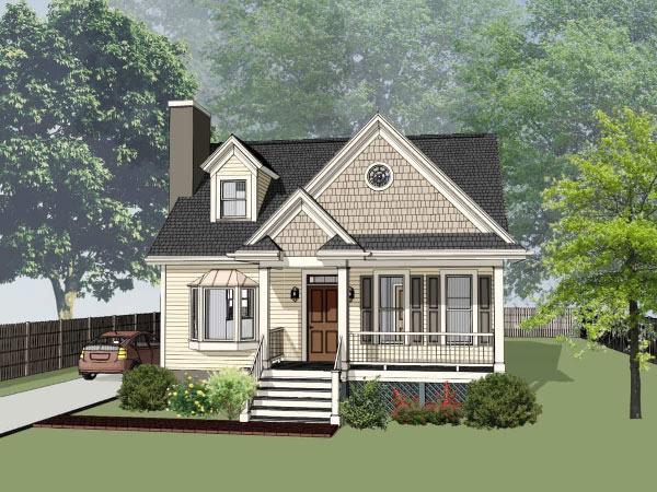 Southern Style Floor Plans Plan: 16-225