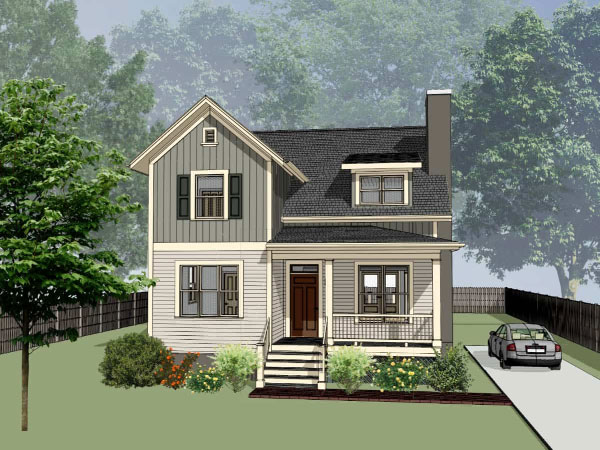 Country Style Floor Plans Plan: 16-227