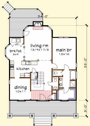 Main Floor Plan: 16-236