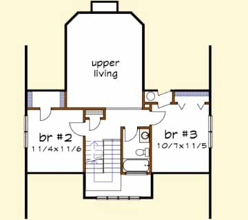 Upper/Second Floor Plan: 16-236