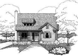 Bungalow Style Floor Plans Plan: 16-239