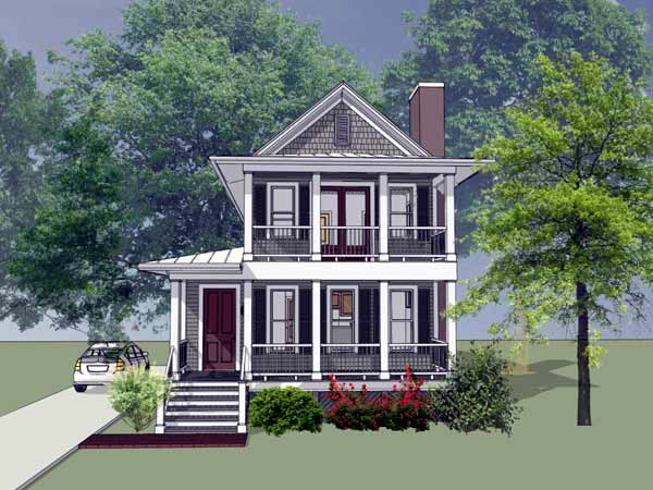 Southern Style Floor Plans Plan: 16-241