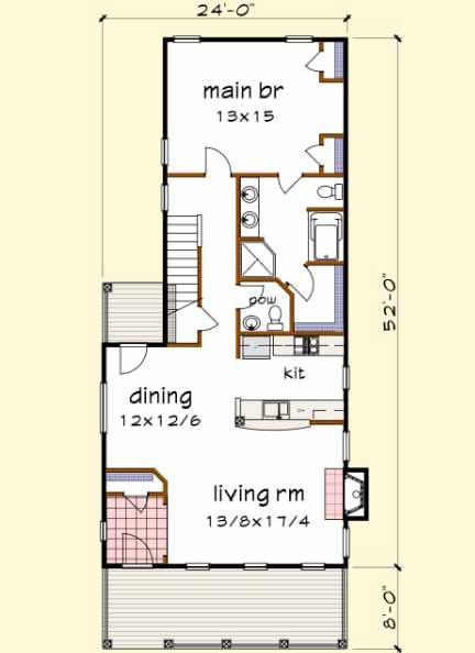 Main Floor Plan: 16-241