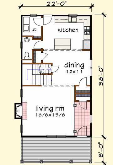 Main Floor Plan: 16-242