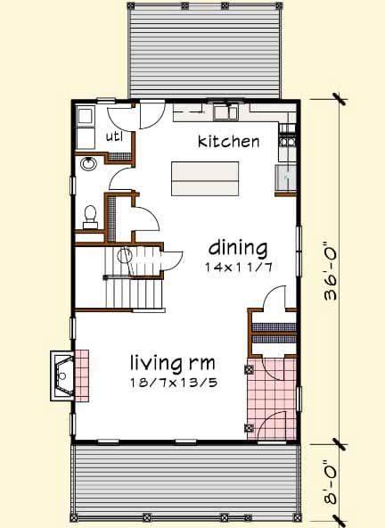 Main Floor Plan: 16-244