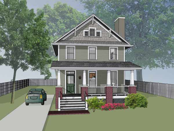 Craftsman Style House Plans Plan: 16-245