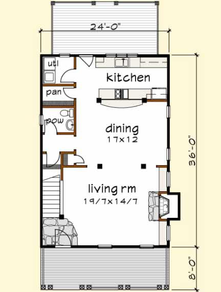 Main Floor Plan: 16-246