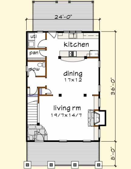Main Floor Plan: 16-247