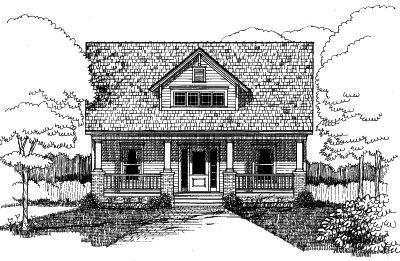 Craftsman Style Floor Plans Plan: 16-249