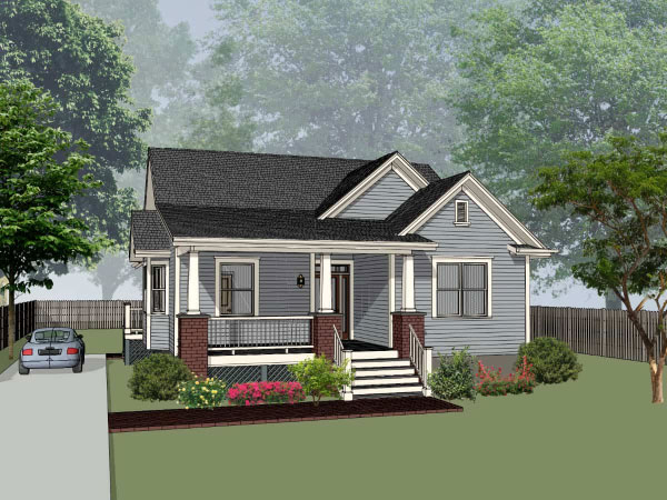 Country Style House Plans Plan: 16-250