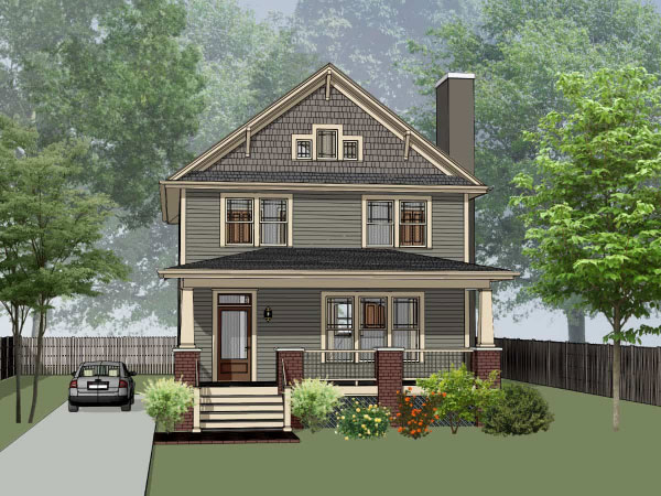 Craftsman Style House Plans Plan: 16-252