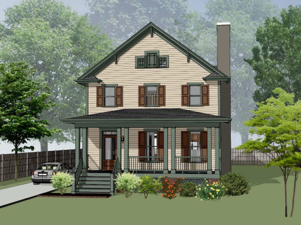 Craftsman Style Floor Plans Plan: 16-255