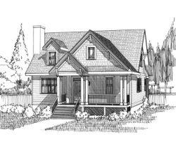 Craftsman Style House Plans Plan: 16-256