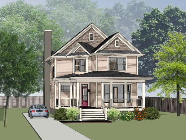 Southern Style Floor Plans Plan: 16-259