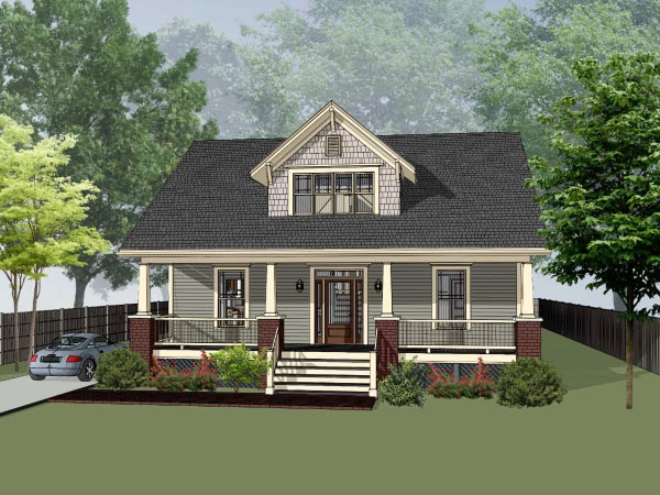 Craftsman Style Floor Plans Plan: 16-260