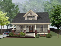 Craftsman Style House Plans Plan: 16-260