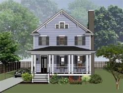 Craftsman Style Floor Plans Plan: 16-268