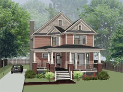 Craftsman Style House Plans Plan: 16-270