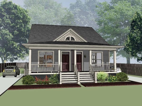 Country Style House Plans Plan: 16-275
