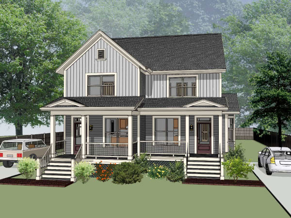 Traditional Style House Plans Plan: 16-276