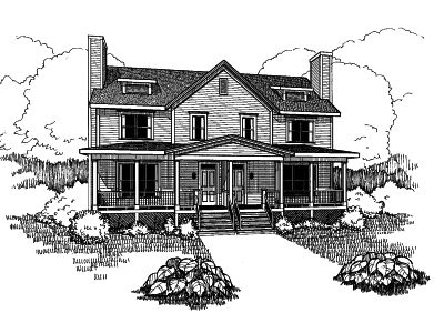 Country Style House Plans Plan: 16-277